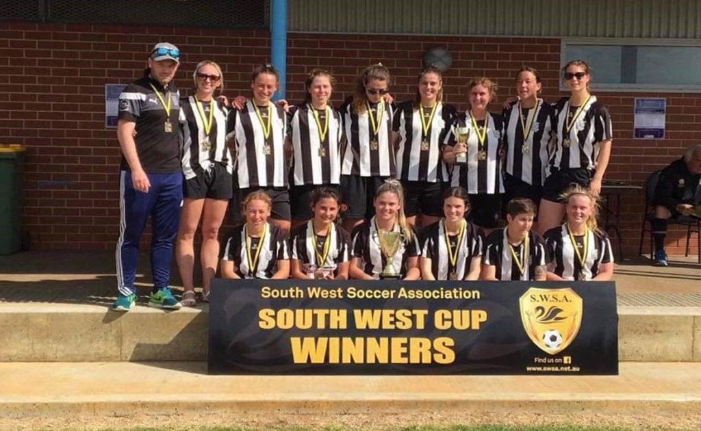 Hay Park United Soccer Club awarded $2000 Community TAB Sports Grant thumbnail