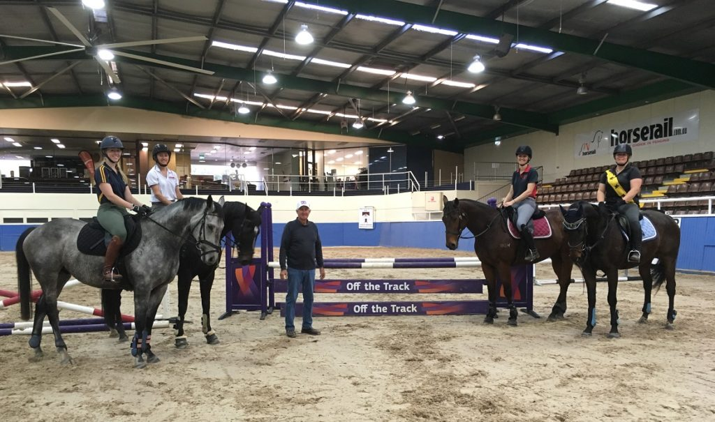 Retired racehorses on track with their new lives thumbnail