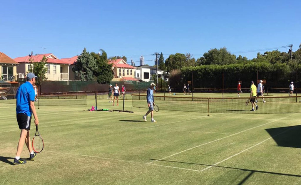 Leederville Tennis Club awarded Community TAB Sports Grant thumbnail