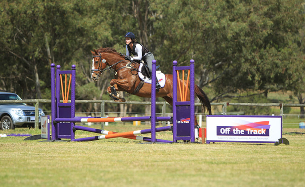 Jockeys Give Show Jumping a Go thumbnail