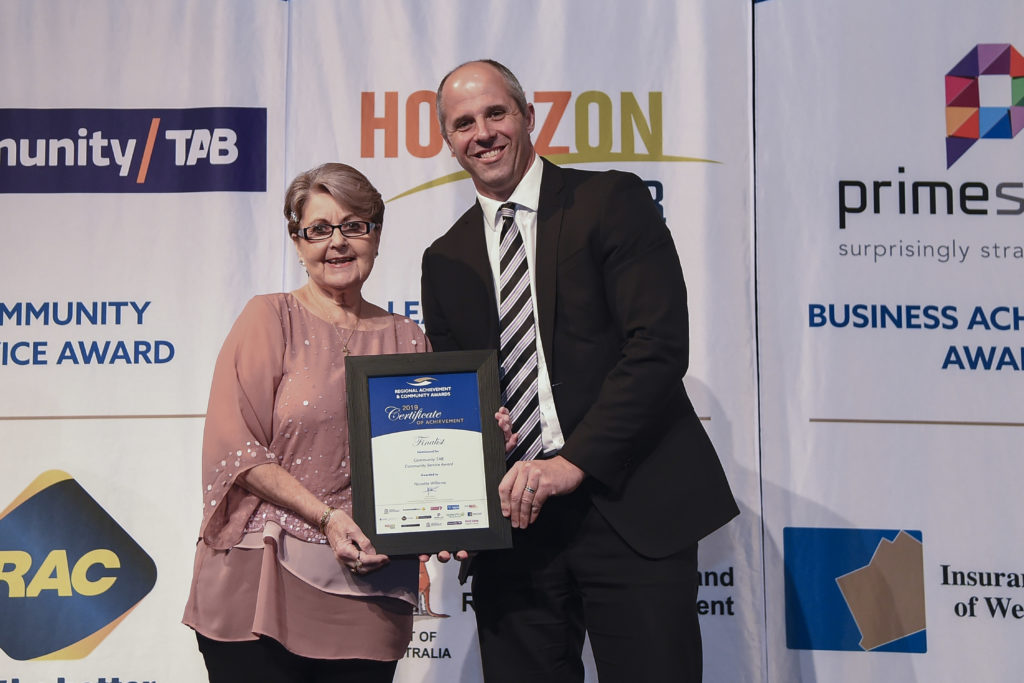 Nanette Williams wins Community TAB Community Service Award thumbnail