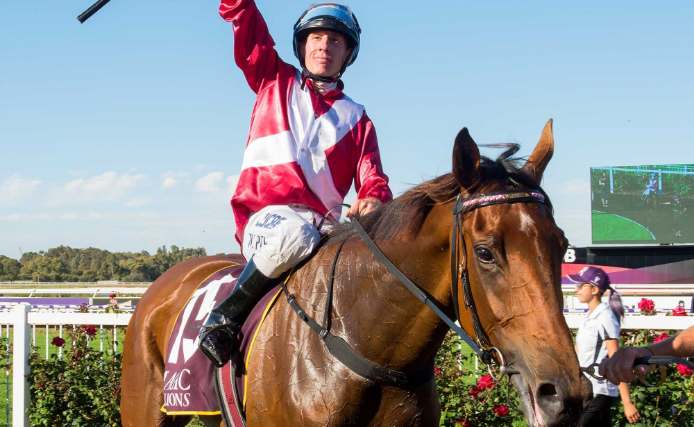 Arcadia Queen New Cox Plate Favourite After Barrier Draw. thumbnail