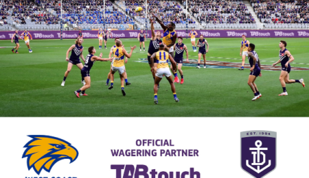 TABtouch announced as an Official Partner of West Coast Eagles and Fremantle Dockers thumbnail