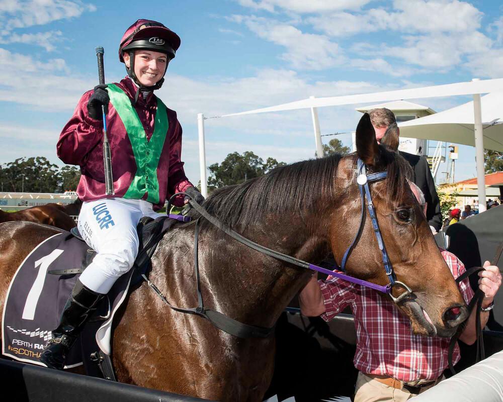From Jockey To Steward: Ellie Asphar's Career Transition thumbnail